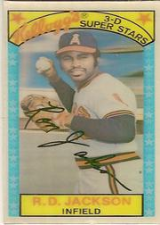1979 Kellogg's #59A Ron Jackson Last Line His Best SP
