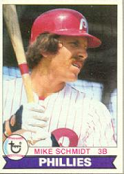 1979 Phillies Burger King #16 Mike Schmidt