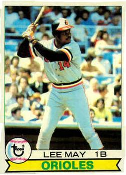 1979 Topps #10 Lee May