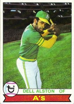 1979 Topps #54 Dell Alston DP