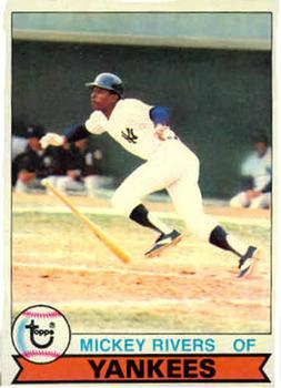 1979 Topps #60 Mickey Rivers
