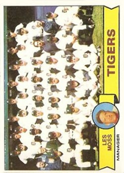 1979 Topps #66 Detroit Tigers CL/Les Moss MG