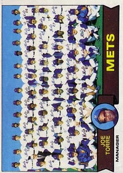 1979 Topps #82 New York Mets CL/Joe Torre MG