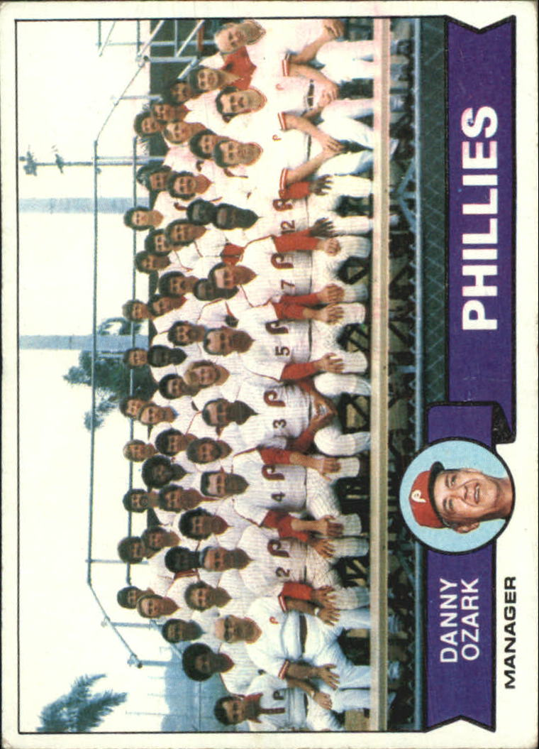 1979 Topps #112 Philadelphia Phillies CL/Danny Ozark MG