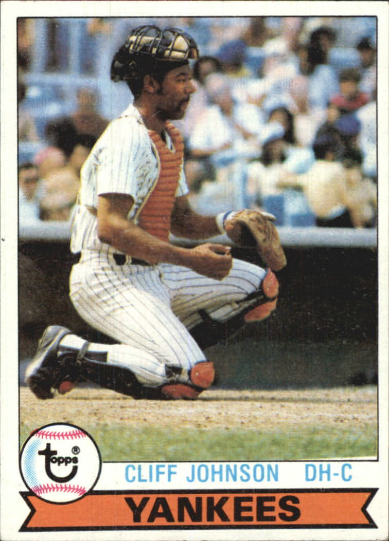 1979 Topps #114 Cliff Johnson