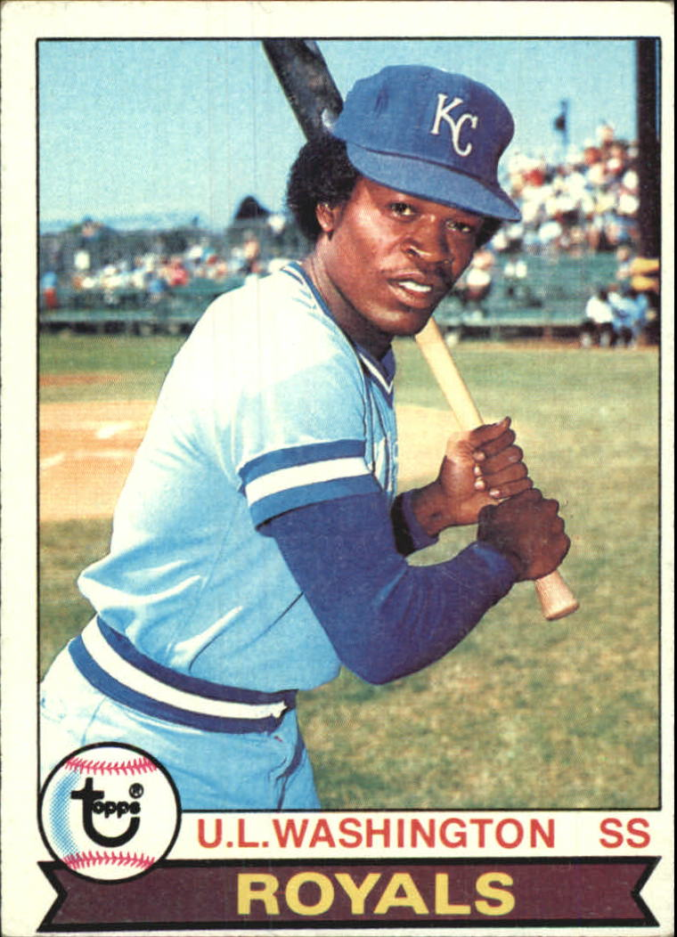 1979 Topps #157 U.L. Washington UER/(Sic, bats left,/should be right)