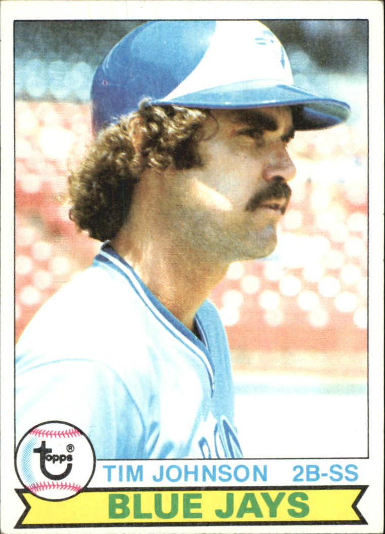 1979 Topps #182 Tim Johnson