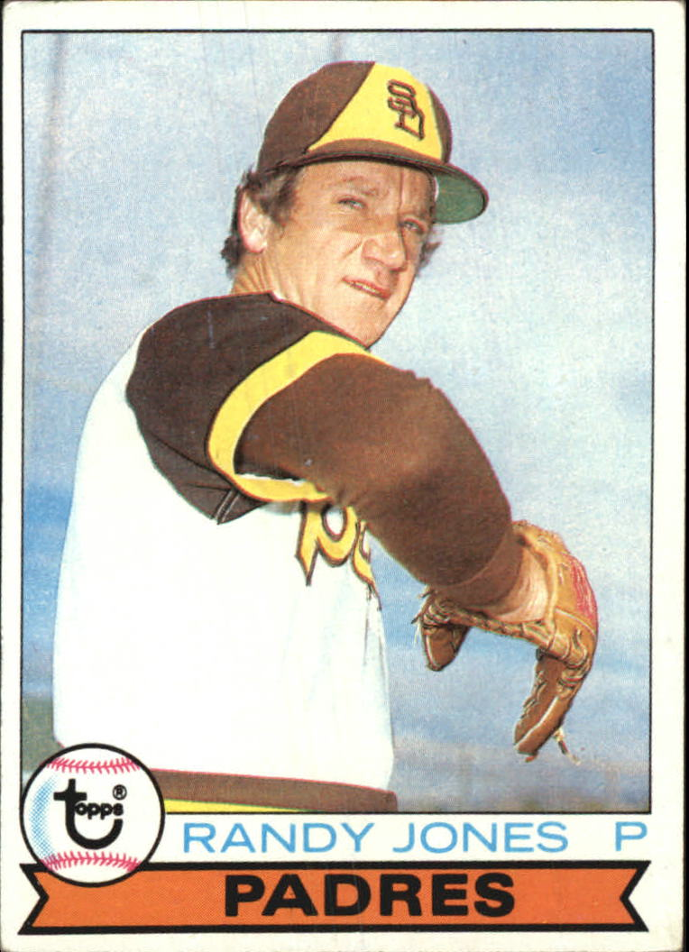 1979 Topps #194 Randy Jones