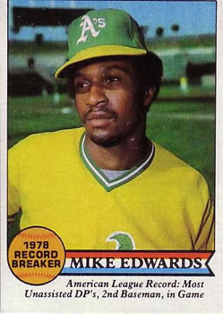 1979 Topps #201 Mike Edwards RB