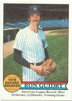 1979 Topps #202 Ron Guidry RB