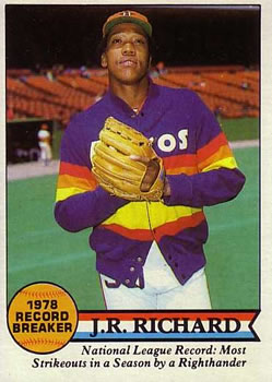 1979 Topps #203 J.R. Richard RB