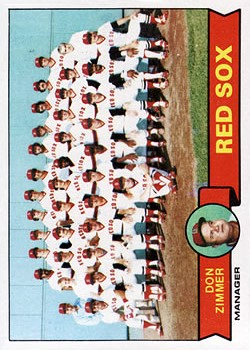 1979 Topps #214 Boston Red Sox CL/Don Zimmer MG
