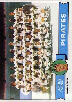 1979 Topps #244 Pittsburgh Pirates CL/Chuck Tanner MG