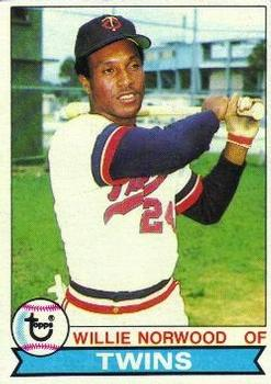 1979 Topps #274 Willie Norwood