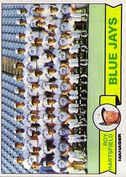 1979 Topps #282 Toronto Blue Jays CL/Roy Hartsfield MG