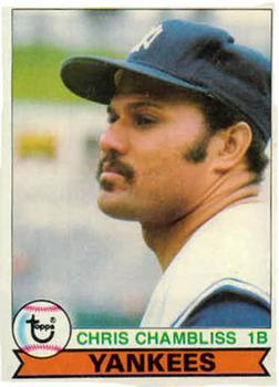 1979 Topps #335 Chris Chambliss