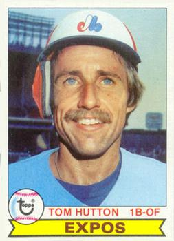 1979 Topps #673 Tom Hutton
