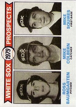 1979 Topps #704 Ross Baumgarten RC/Mike Colbern RC/Mike Squires RC