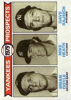 1979 Topps #710 Brian Doyle RC/Mike Heath RC/Dave Rajsich RC