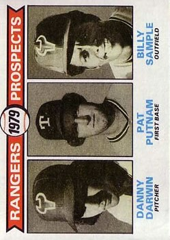 1979 Topps #713 Danny Darwin RC/Pat Putnam/Billy Sample RC