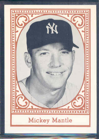 1980 Yankees Greats TCMA #6 Mickey Mantle front image