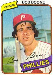1980 Phillies Burger King #2 Bob Boone