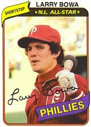 1980 Phillies Burger King #7 Larry Bowa