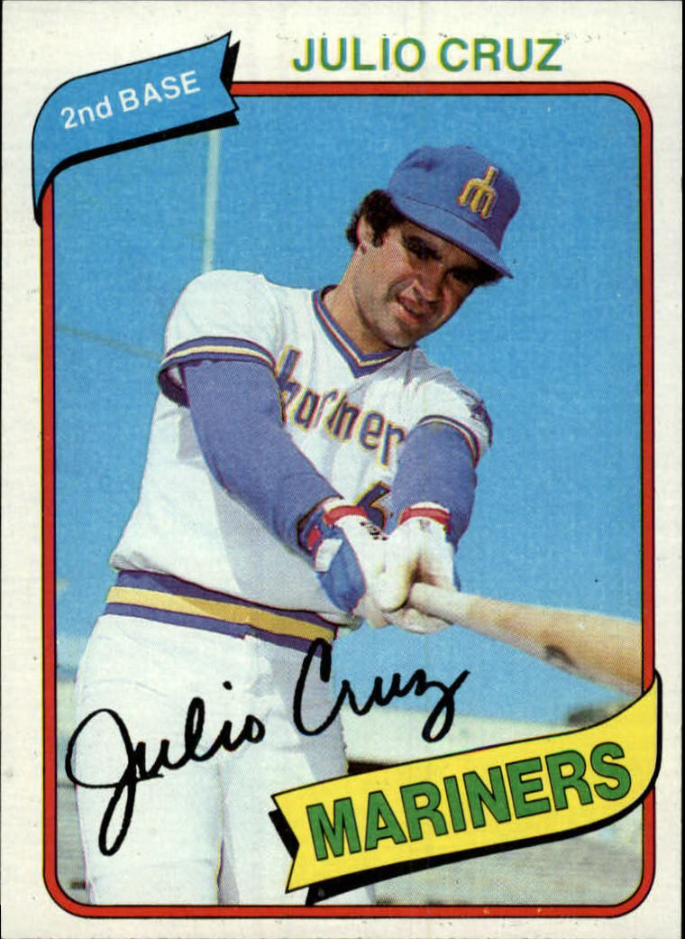 1980 Topps #32 Julio Cruz DP