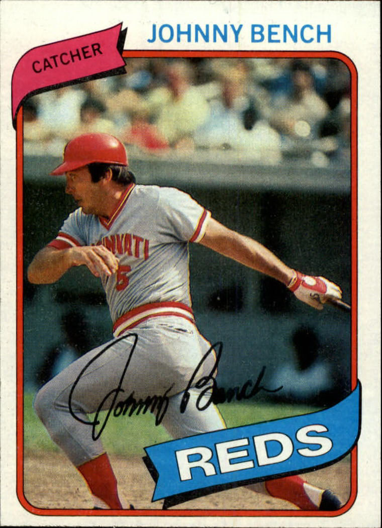 1980 Topps #100 Johnny Bench