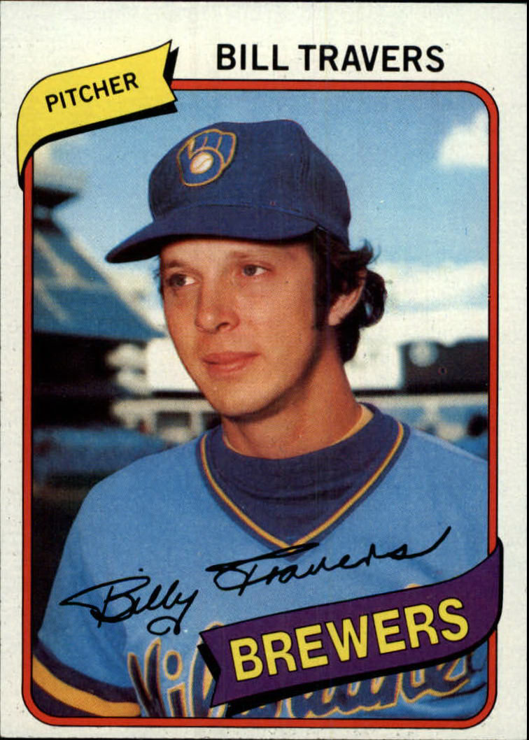 1980 Topps #109 Bill Travers