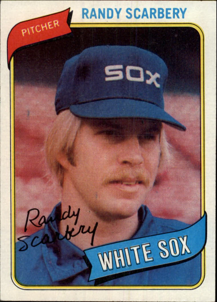 1980 Topps #291 Randy Scarberry RC