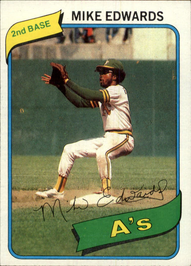1980 Topps #301 Mike Edwards