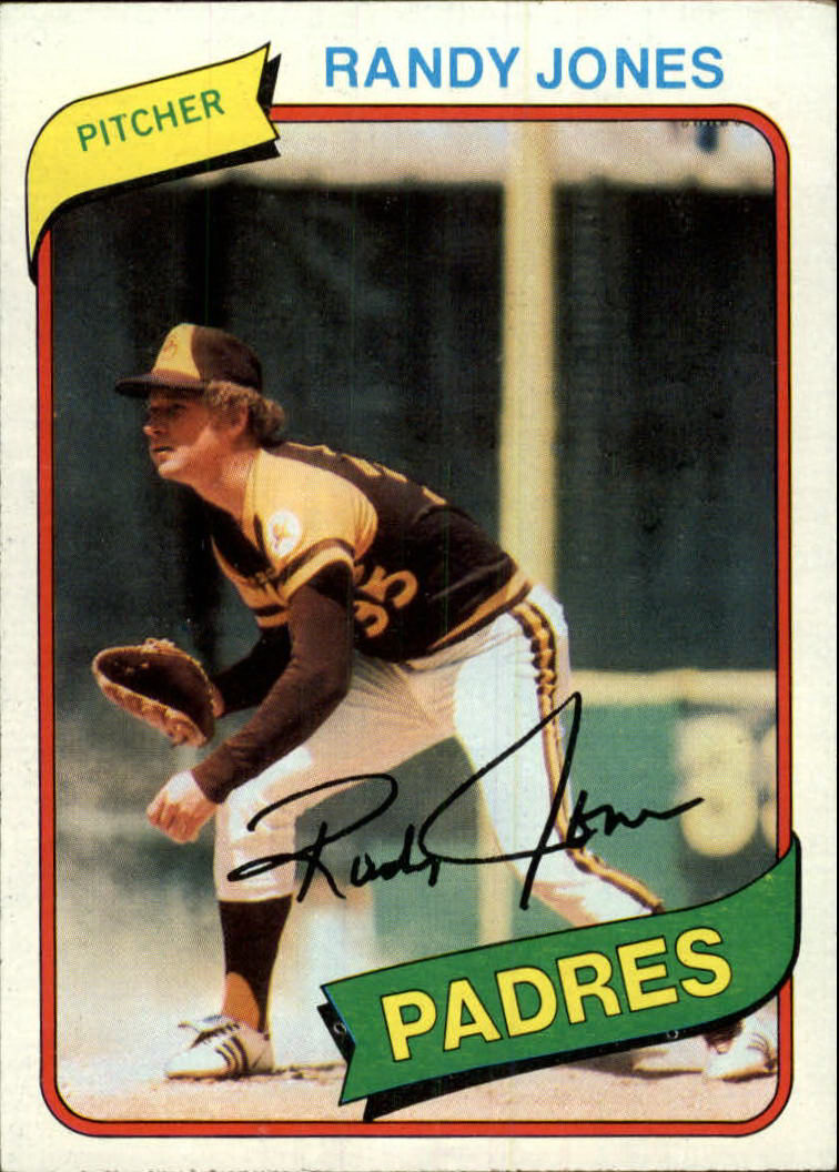 1980 Topps #305 Randy Jones