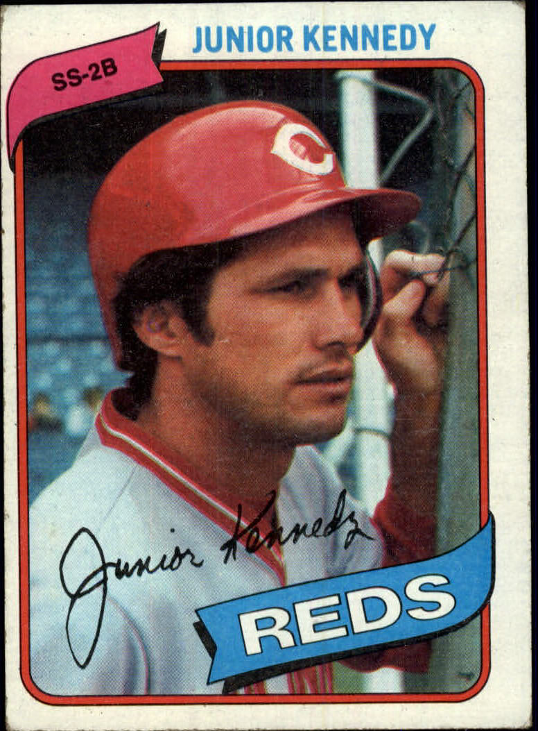 1980 Topps #377 Junior Kennedy