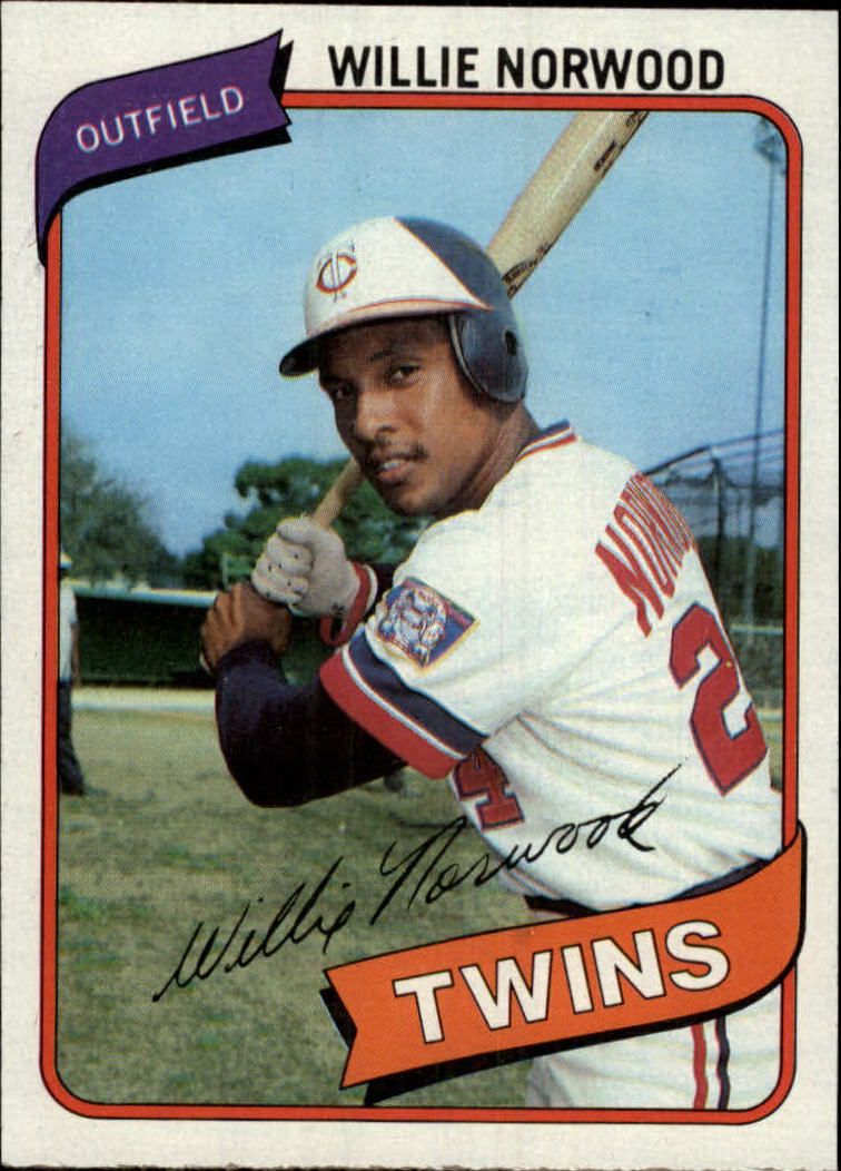 1980 Topps #432 Willie Norwood