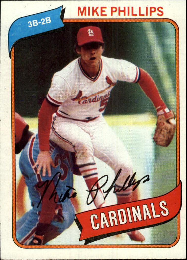 1980 Topps #439 Mike Phillips