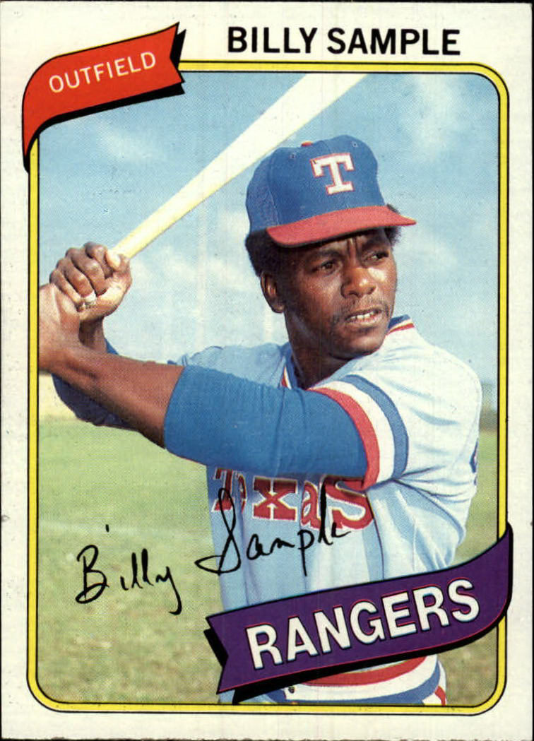 1980 Topps #458 Billy Sample