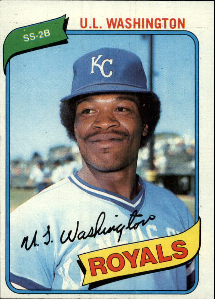 1980 Topps #508 U.L. Washington