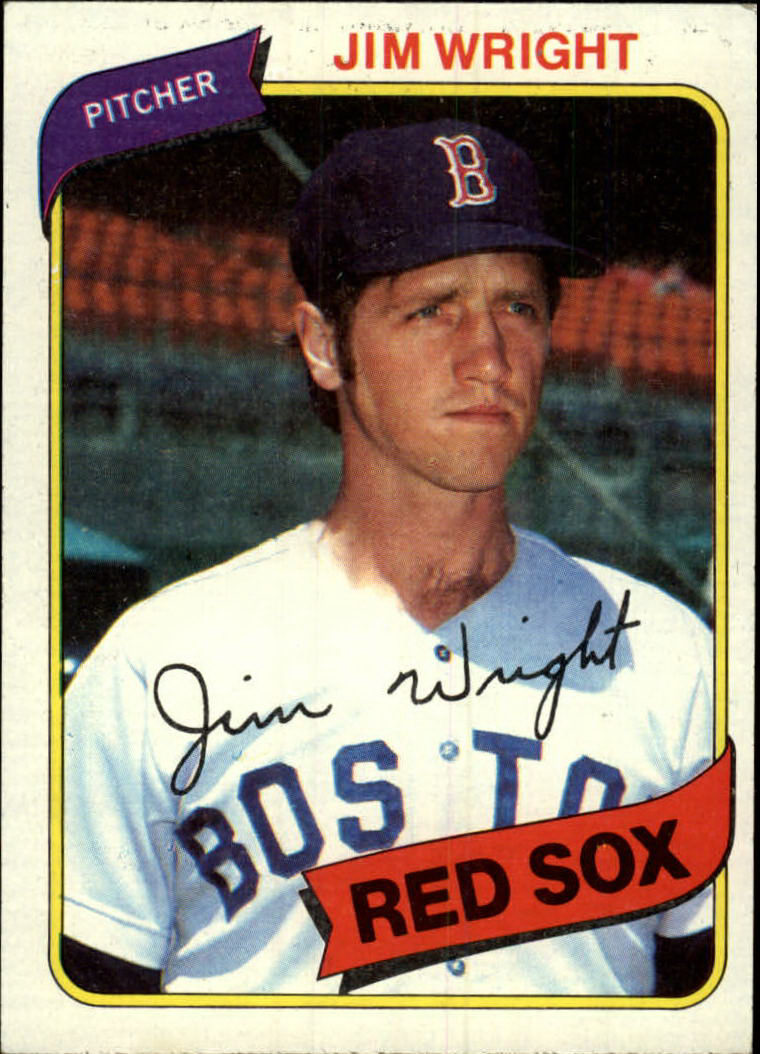1980 Topps #524 Jim Wright DP