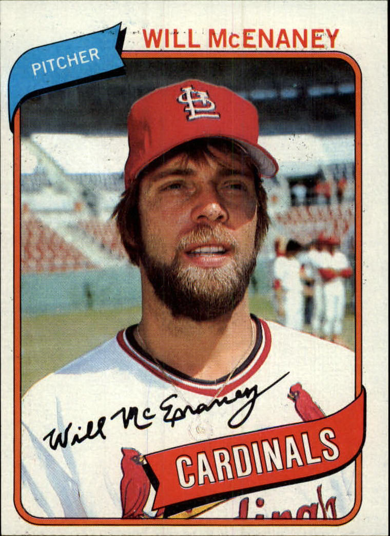 1980 Topps #563 Will McEnaney