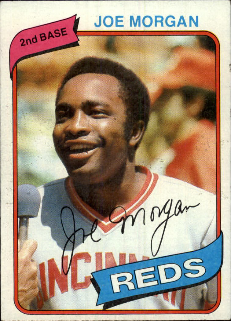 1980 Topps #650 Joe Morgan