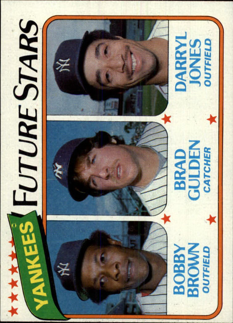 1980 Topps #670 Bobby Brown RC/Brad Gulden RC/Darryl Jones RC