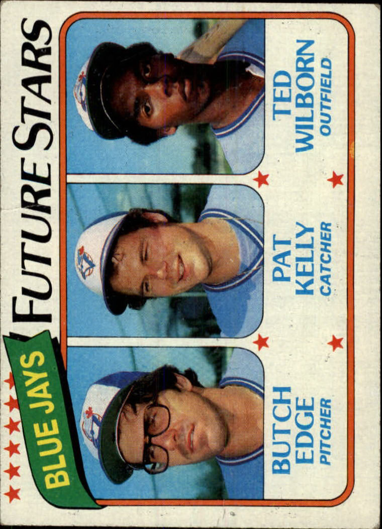 1980 Topps #674 Butch Edge RC/Pat Kelly/Ted Wilborn RC