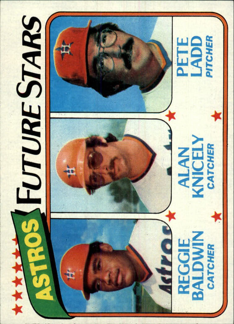 1980 Topps #678 Reggie Baldwin RC/Alan Knicely RC/Pete Ladd RC