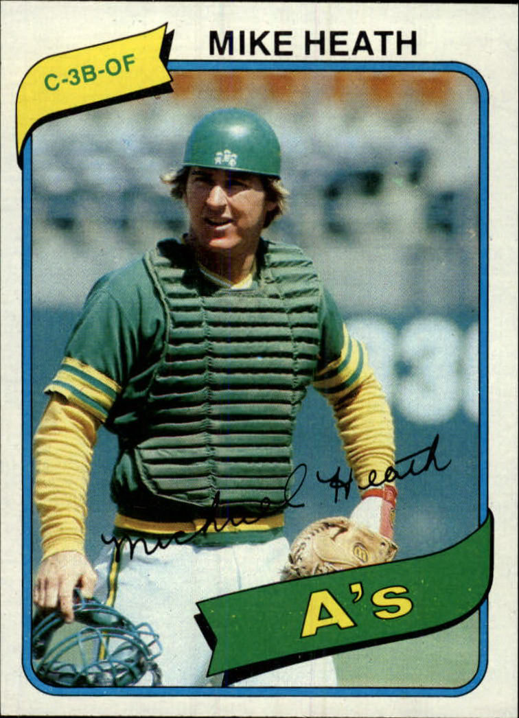 1980 Topps #687 Mike Heath DP