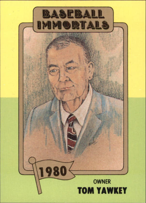 yawkey personals Tom yawkey yawkey was 30 when he bought the red sox in 1933 with his inheritance from the lumber and iron business he sank millions into the team trying to build a.