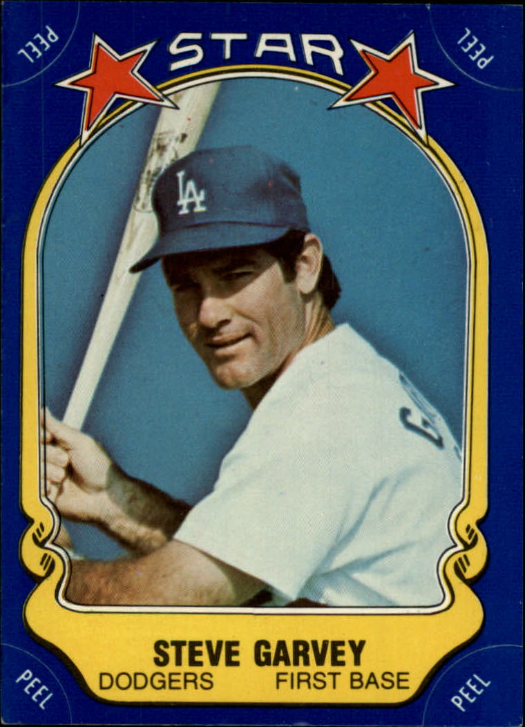 1981 Fleer Star Stickers #1 Steve Garvey