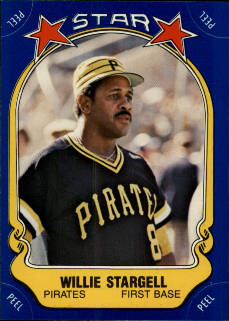 1981 Fleer Star Stickers #15 Willie Stargell