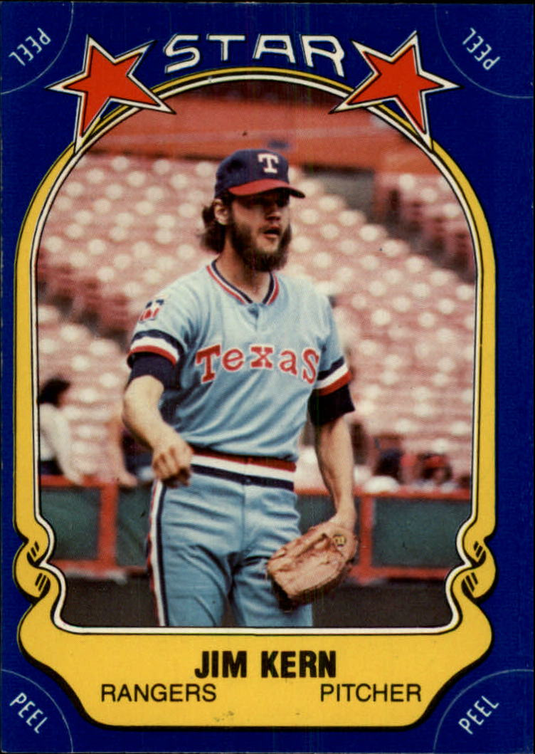 1981 Fleer Star Stickers #18 Jim Kern