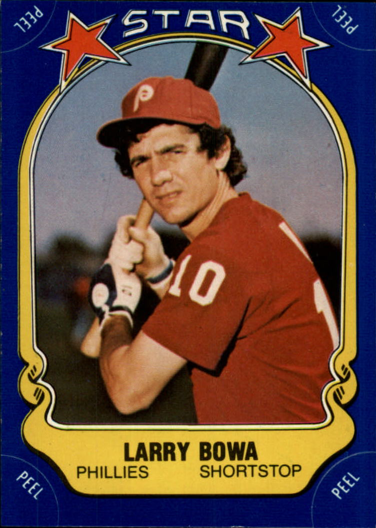 1981 Fleer Star Stickers #20 Larry Bowa